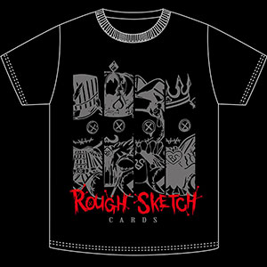 RoughSketch CARDS Tシャツ